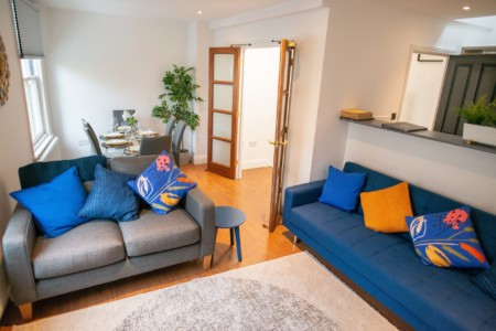 The Cross Living Room Serviced Accommodation in Cambridge