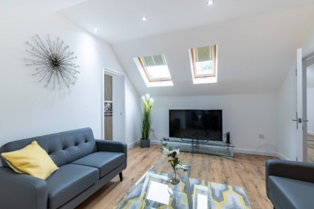 Central Pborough Living Space Serviced Accommodation in Cambridge, UK