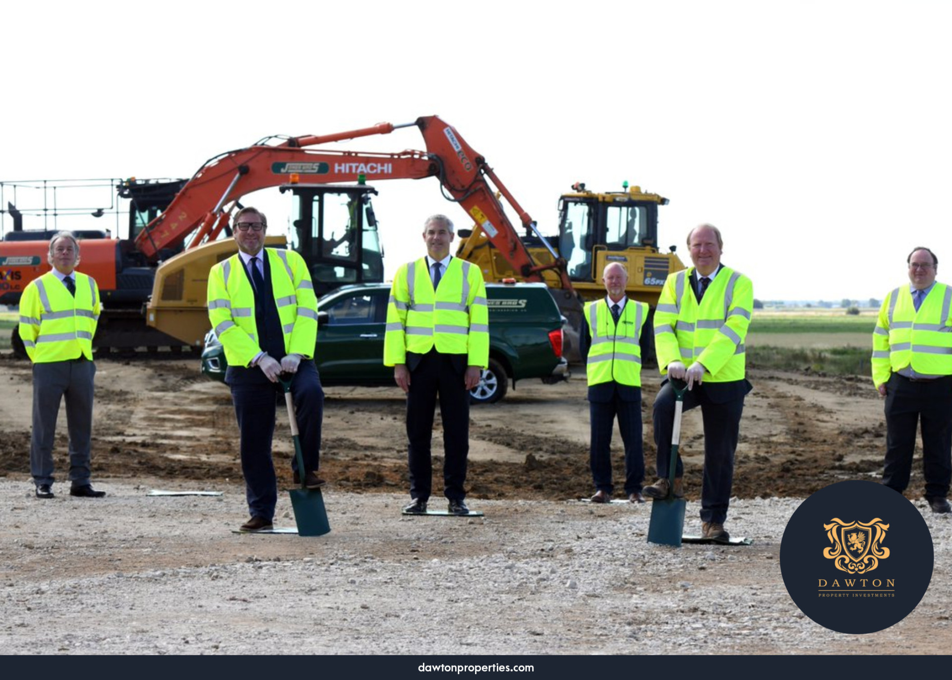 Construction Ongoing on Whittlesey | Dawton Properties