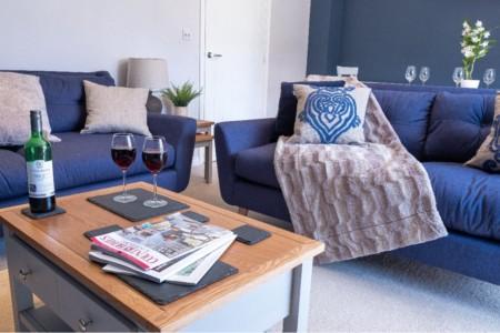 Beaufort House Modern Living Room | Dawton Properties