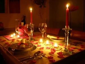 valentines day schedule at home